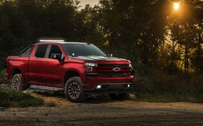 Picture Chevrolet, pickup, 2018, Silverado, RST, Off Road Concept