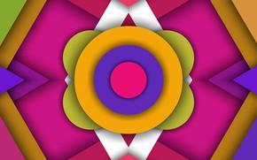 Picture color, circles, figure