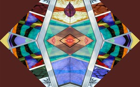 Picture reflection, pattern, symmetry
