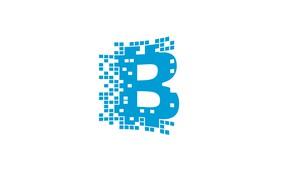 Picture white, blue, logo, logo, blockchain, blockchain