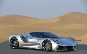 Picture Road, Wheel, Lotus, Drives, Supercar, Dunes, 2020, Electric car, Evia, Lotus Evija