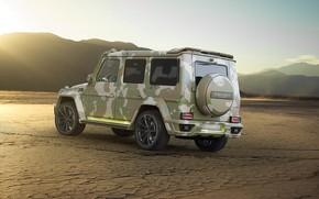 Picture Mercedes-Benz, AMG, Mansory, G-Class, Gelandewagen, G63, W463, 2015, Sahara Edition