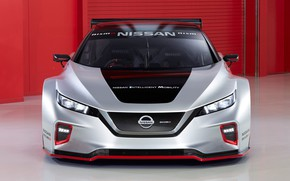 Picture Nissan, front view, Leaf, 2019, Nismo RC