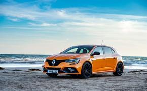 Picture sea, auto, Renault, Megane