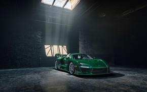 Picture McLaren, supercar, 2018, Senna, MSO, Fux Green