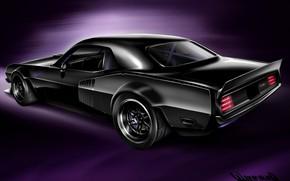 Picture Auto, Figure, Machine, Art, 1970, Barracuda, Plymouth, CUDA, Plymouth Barracuda, Vehicles, Transport, Transport & Vehicles, …