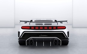 Picture Bugatti, Hypercar, Wing, Sportscar, 2020, One hundred and ten, Bugatti Centodieci