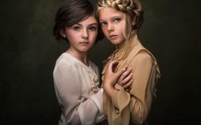 Picture girls, portrait, freckles, Paulina Stalij-Duczman