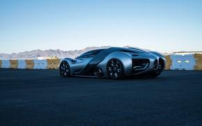 Picture asphalt, prototype, Hyperion, 2020, XP-1, водородный