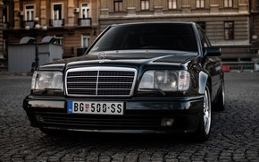 Picture Mercedes, Benz, E500, W124