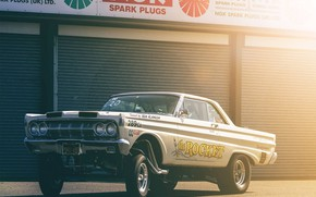 Picture Custom, Gasser, Vehicle, Ford Galaxie