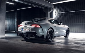Picture white, coupe, Toyota, Supra, the fifth generation, in the room, mk5, double, 2020, GR Above, …