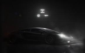 Picture Auto, Lamborghini, Machine, Car, Art, Render, Supercar, Aventador, Lamborghini Aventador, Supercar, Sports car, Sportcar, Transport …