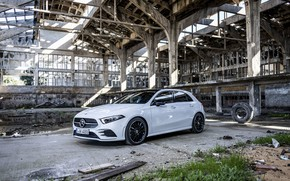 Picture Mercedes, White, 2018, A-class