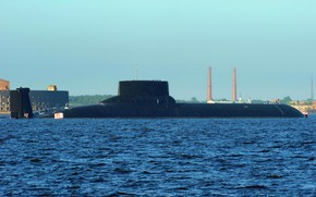Picture submarine, the project 941, Dmitry Donskoy