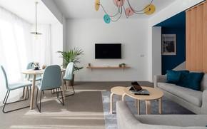 Picture design, style, interior, living room, dining room, Capri Blu, by Ana Ferrero