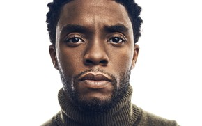 Picture look, portrait, actor, Chadwick Boseman