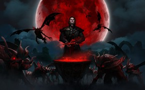 Picture Vampires, Gwent, Quint, Gwent :The Witcher Card Game, Blood Moon, Quint: The Witcher. Card Game, …