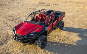 Picture shadow, Honda, 2018, Rugged Open Air Vehicle Concept