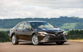 Picture Parking, Toyota, sedan, 2018, Camry, XLE Hybrid