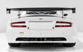 Picture GT3, White, Race car, Aston Martin DBRS9