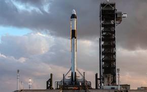 Picture USA, USA, Dragon, Falcon, SpaceX