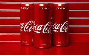 Picture jars, drink, Coca-Cola, Coca-Cola