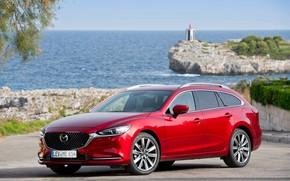 Picture Mazda, Mazda 6, Wagon, 2018-19