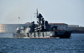 Picture Sevastopol, ship, Sandstorm, rocket