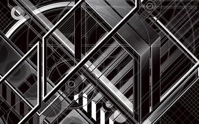 Wallpaper design, form, composition