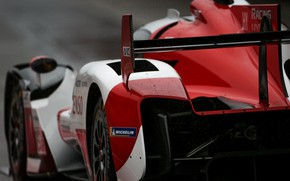 Picture wing, sports car, Toyota, WEC, 4WD, 2021, Gazoo Racing, GR010 Hybrid, 3.5 л., V6 twin …