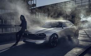 Picture coupe, concept, Peugeot, the concept, Peugeot, electric, Peugeot e-Legend