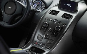 Picture Aston Martin, Rapide, the wheel, salon, 2018, AMR