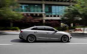 Picture sedan, side view, KIA, Kia, Optima, 2020, 2021, fastback, K5, K5 GT-Line AWD, Kia K5, …
