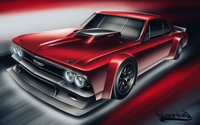 Picture Auto, Figure, Chevrolet, Machine, Art, Chevy, Chevelle, Chevrolet Chevelle, Vehicles, Transport, Transport & Vehicles, Andreas …