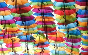 Picture the city, umbrellas, Bordeaux, Passage Sainte Catherine
