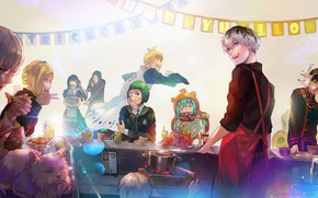 Picture holiday, anime, characters, Tokyo Ghoul, Tokyo ghoul