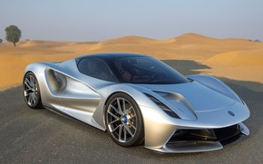 Picture Road, Wheel, Lotus, Lights, Supercar, Dunes, 2020, Electric car, Evia, Lotus Evija