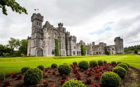 Picture castle, Ireland, Ireland, Ashford Castle, in Mayo