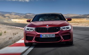 Picture BMW, front view, 2017, M5, F90, M5 First Edition