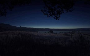 Picture Night, Natur, UHD, Red Dead Redemption 2, RDR2, HDR 10, Sun Goes Down, Xbox One …