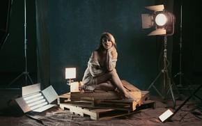 Picture posing, lighting, Studio, pallet, Authors