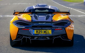 Picture coupe, McLaren, feed, 2020, V8 twin-turbo, 620R, 620 HP, 3.8 L.