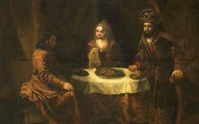 Picture oil, picture, canvas, Of gerbrand van den Eckhout, 1724, Gerbrand van den Eeckhout, The Wrath …