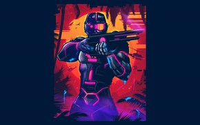 Picture Music, Neon, Game, Blood Dragon, Synth, Retrowave, Synthwave, New Retro Wave, Futuresynth, Sintav, Retrouve, Outrun, ...