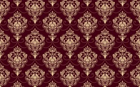 Picture background, ornament, style, vintage, Burgundy, ornament, seamless, victorian
