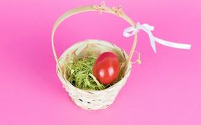 Picture holiday, basket, egg, Easter, Easter