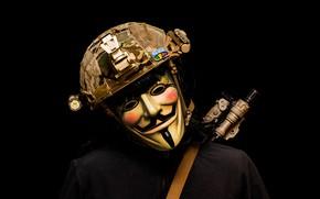 Picture mask, helmet, male, Revenge