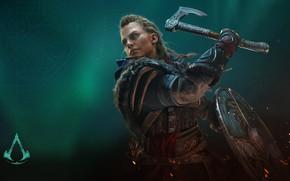 Picture game, axe, axe, warrior, games, Viking, viking, eivor, valhalla, assassin's creed valhalla, eivor