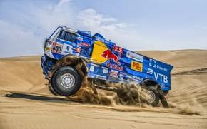 Picture Sport, Machine, Truck, Master, Russia, 500, Kamaz, Rally, Dakar, KAMAZ-master, Dakar, Rally, KAMAZ, The roads, …